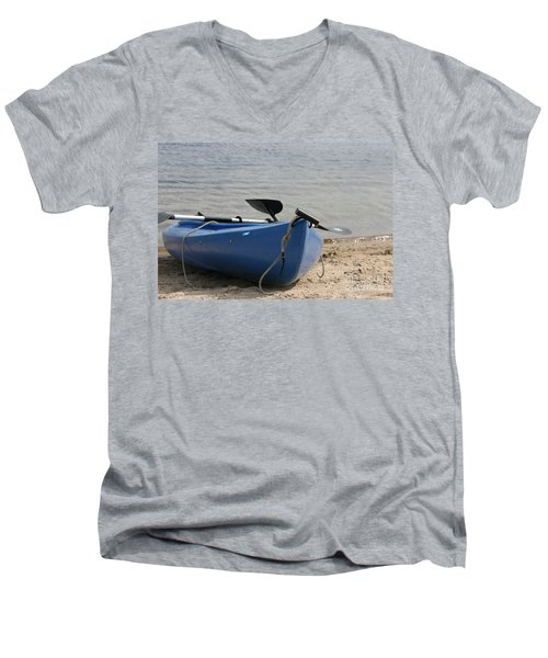 A Day On The Water Men's V-Neck T-Shirt