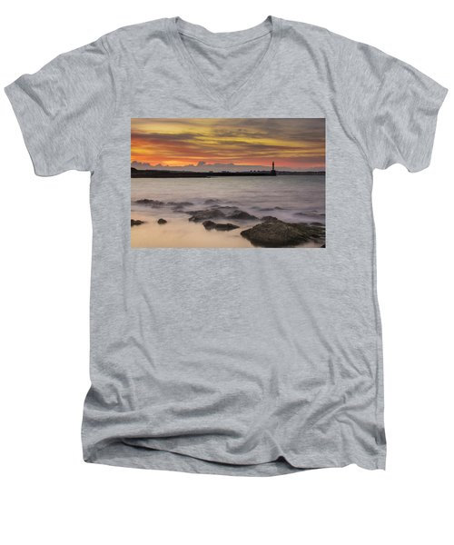 A Far Away City Men's V-Neck T-Shirt