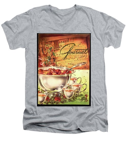 A Gourmet Cover Of Apples Men's V-Neck T-Shirt