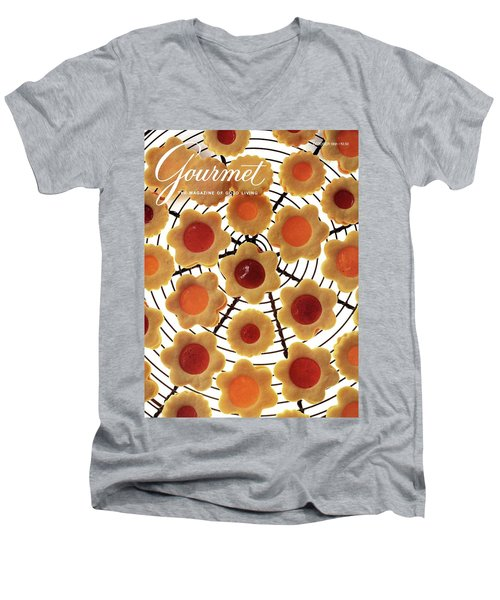 A Gourmet Cover Of Sunny Savaroffs Cookies Men's V-Neck T-Shirt