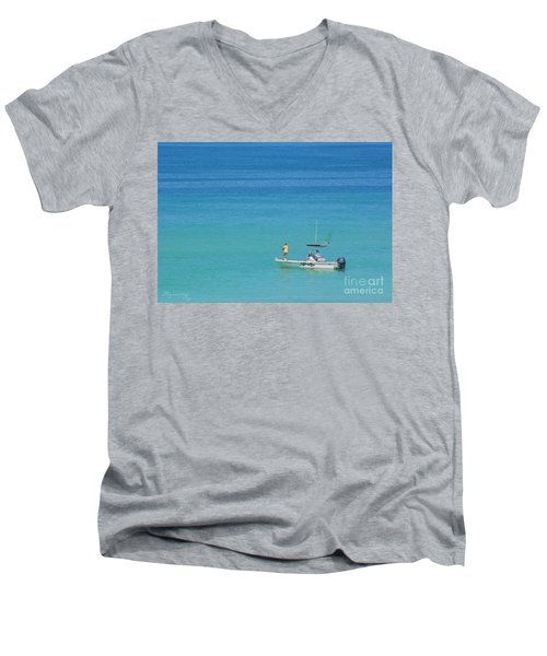 A Great Way To Spend A Day Men's V-Neck T-Shirt