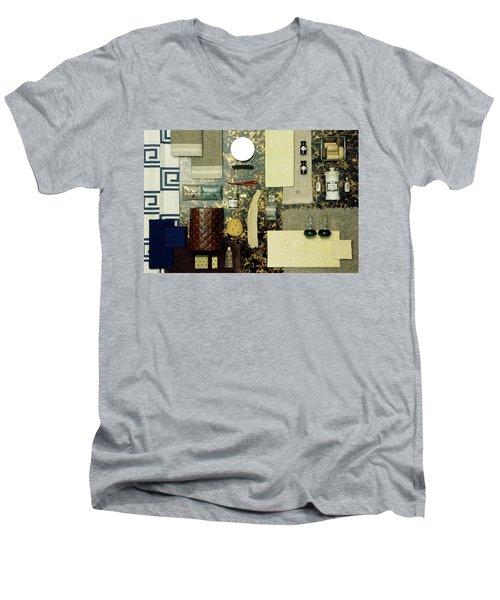 A Group Of Household Items Men's V-Neck T-Shirt