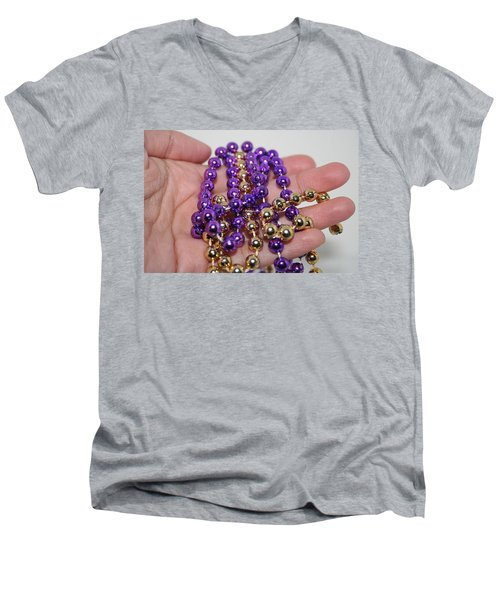 A Handful Of Beads Men's V-Neck T-Shirt