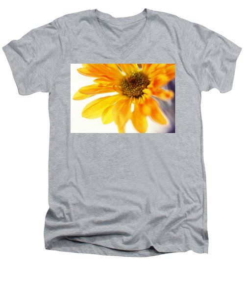 A Little Bit Sun In The Cold Time Men's V-Neck T-Shirt