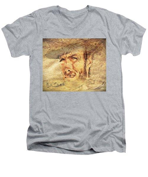 A Man With No Name Men's V-Neck T-Shirt