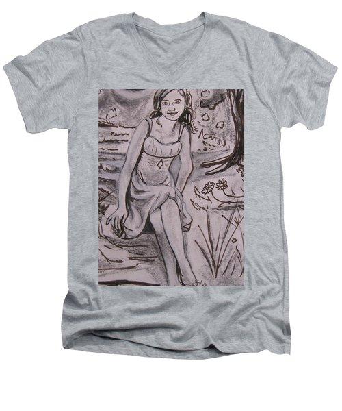 A Midsummer Night's Dream Play Men's V-Neck T-Shirt