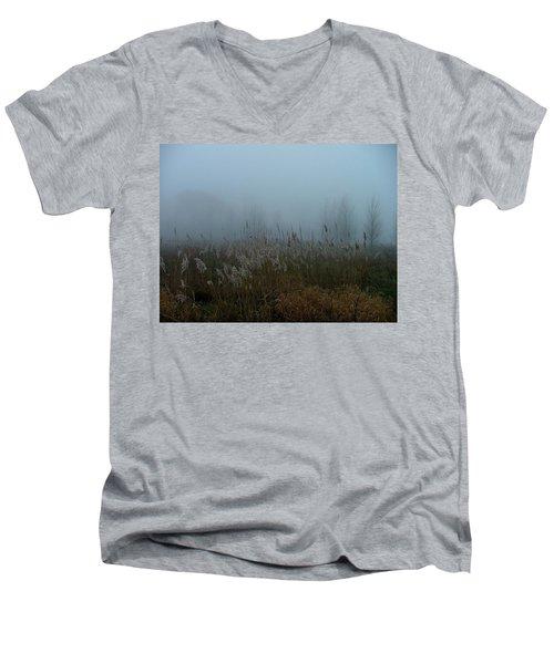 A Morning Fog Men's V-Neck T-Shirt