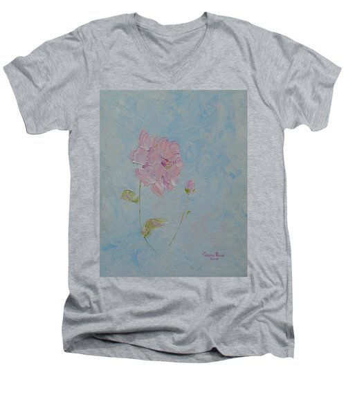 A Mother's Love Men's V-Neck T-Shirt by Judith Rhue