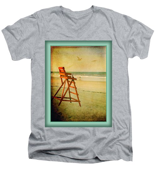 A Perfect Day Men's V-Neck T-Shirt