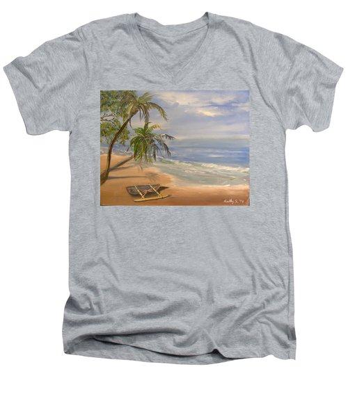 A Quiet Place Men's V-Neck T-Shirt