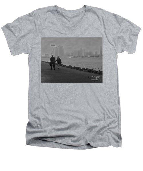 A Romantic Walk 2 Men's V-Neck T-Shirt