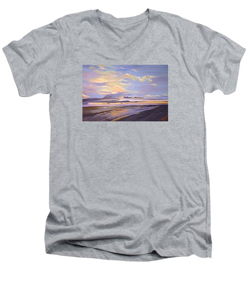 A South Facing Shore Men's V-Neck T-Shirt