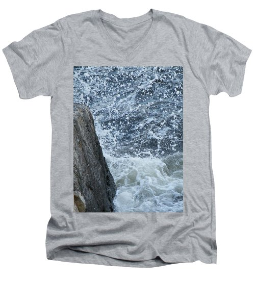 A Stillness In The Storm  Men's V-Neck T-Shirt