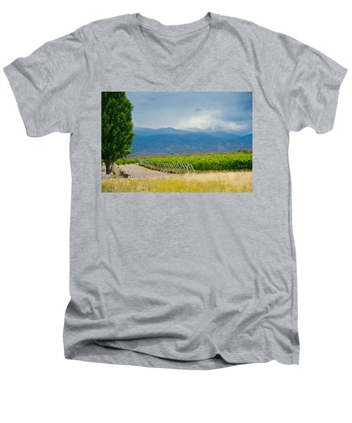 Storm On The Horizon Men's V-Neck T-Shirt