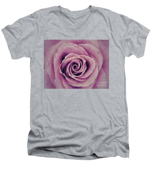 A Sugared Rose Men's V-Neck T-Shirt