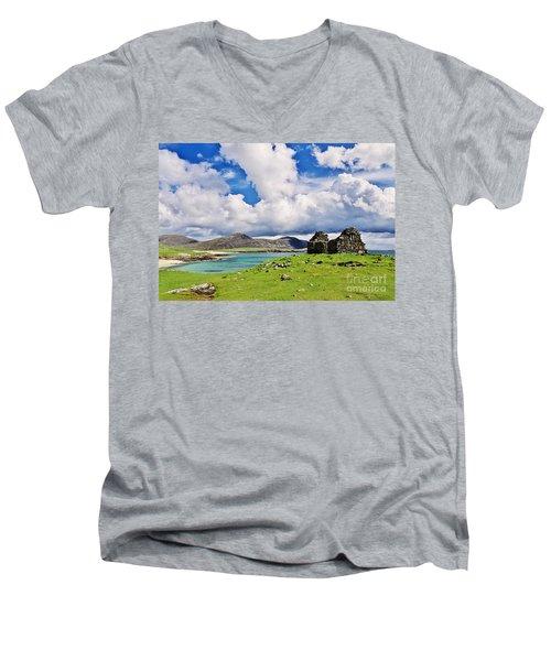 A Sunny Day In The Hebrides Men's V-Neck T-Shirt