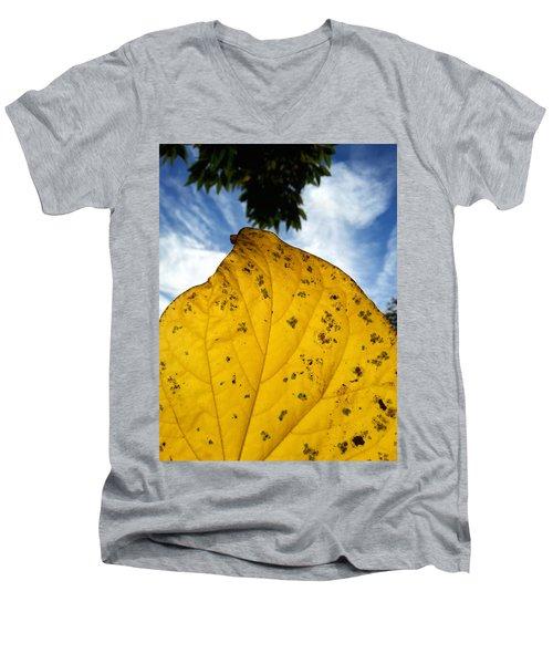 A Touch Of God Men's V-Neck T-Shirt by Lon Casler Bixby