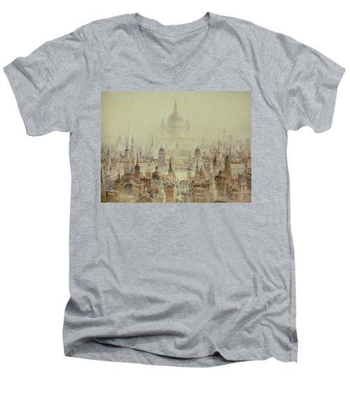 A Tribute To Sir Christopher Wren Men's V-Neck T-Shirt
