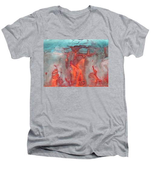 A Vision Of Hell Men's V-Neck T-Shirt