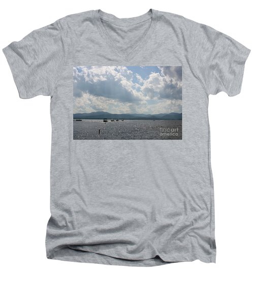 A Weekend On The Water Men's V-Neck T-Shirt