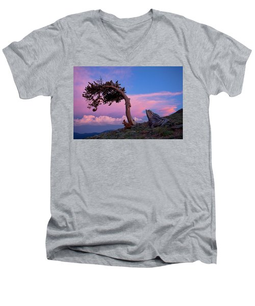 A Westerly Wind Men's V-Neck T-Shirt by Jim Garrison
