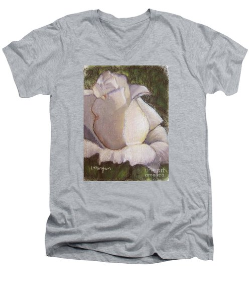 A Whiter Shade Of Pale Men's V-Neck T-Shirt