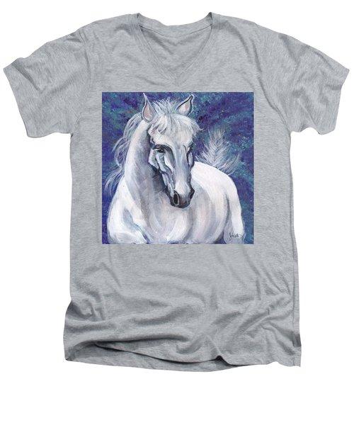 A Wild One Men's V-Neck T-Shirt by John Keaton