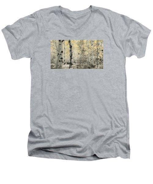 A Wisp Of Gold Men's V-Neck T-Shirt