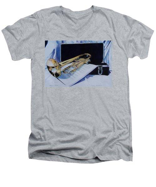 Aaron's Pride Men's V-Neck T-Shirt