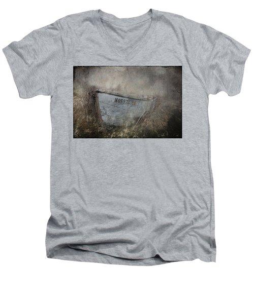 Abandoned On Sugar Island Michigan Men's V-Neck T-Shirt