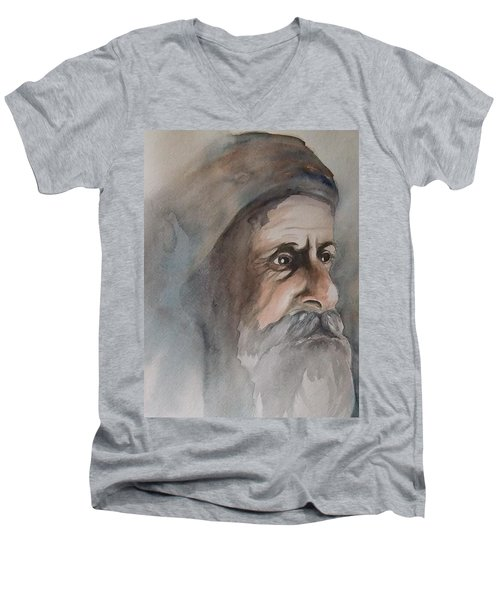 Abraham Men's V-Neck T-Shirt