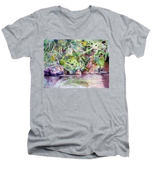 Abram's Creek Men's V-Neck T-Shirt
