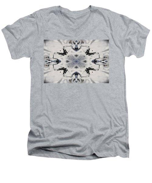 Abstract Graffiti 16 Men's V-Neck T-Shirt