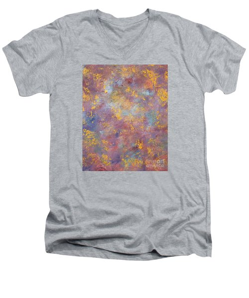 Abstract Impressions Men's V-Neck T-Shirt