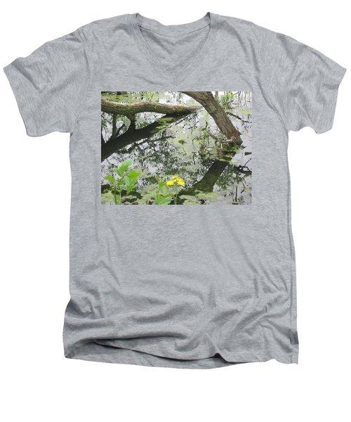 Abstract Nature 2 Men's V-Neck T-Shirt