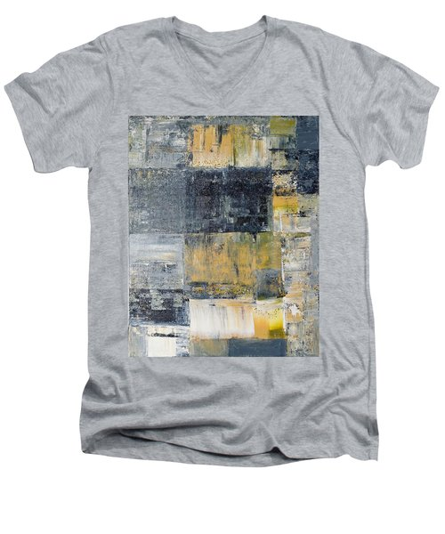 Abstract Painting No. 4 Men's V-Neck T-Shirt