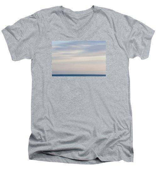 Abstract Seascape No. 01 Men's V-Neck T-Shirt