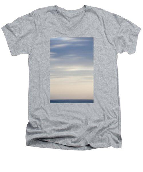 Abstract Seascape No. 03 Men's V-Neck T-Shirt