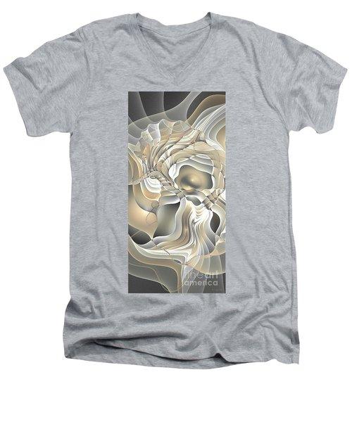 Abstraction 234-03-13- Marucii  Men's V-Neck T-Shirt