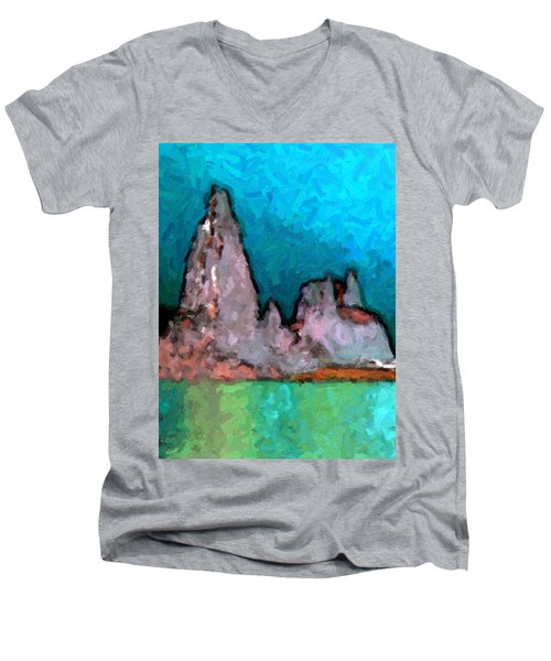 Acid Lake Men's V-Neck T-Shirt