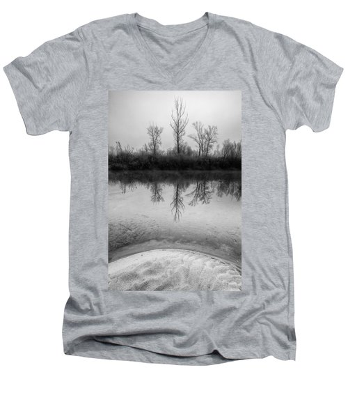 Across The Water Men's V-Neck T-Shirt