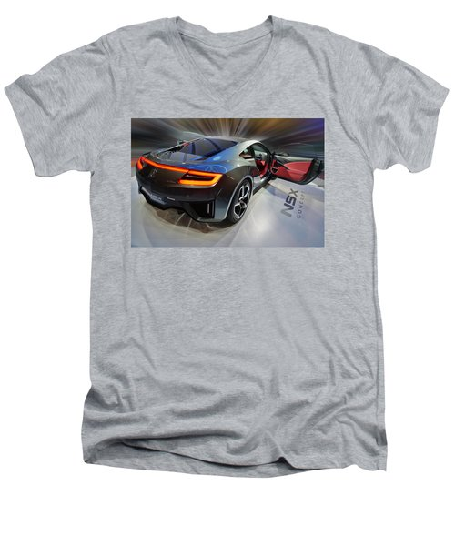 Acura N S X  Concept 2013 Men's V-Neck T-Shirt