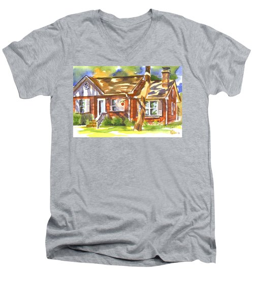 Adams Home Men's V-Neck T-Shirt