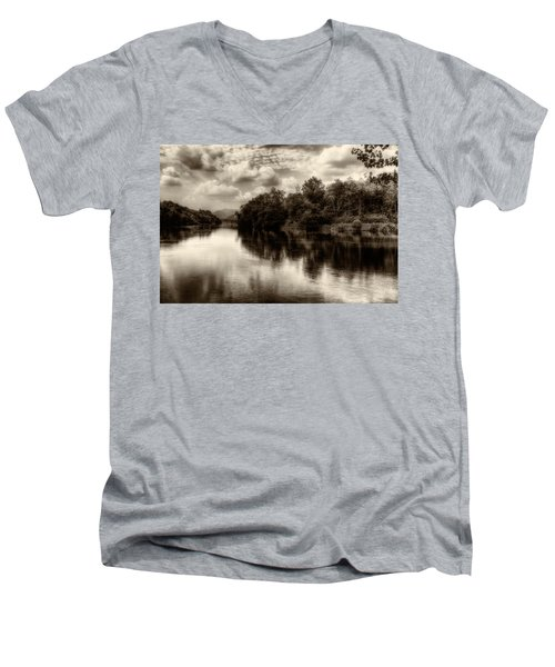 Adda River 2 Men's V-Neck T-Shirt