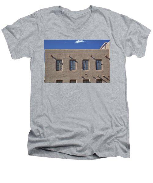 Adobe Architecture II Men's V-Neck T-Shirt