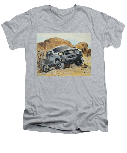 Adventure Awaits Men's V-Neck T-Shirt