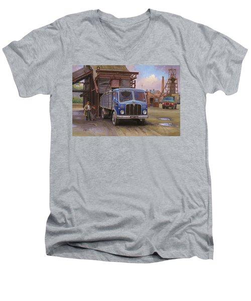 Aec Mercury Tipper. Men's V-Neck T-Shirt