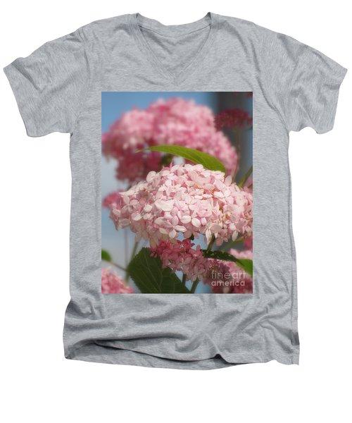 Aelise Men's V-Neck T-Shirt by France Laliberte