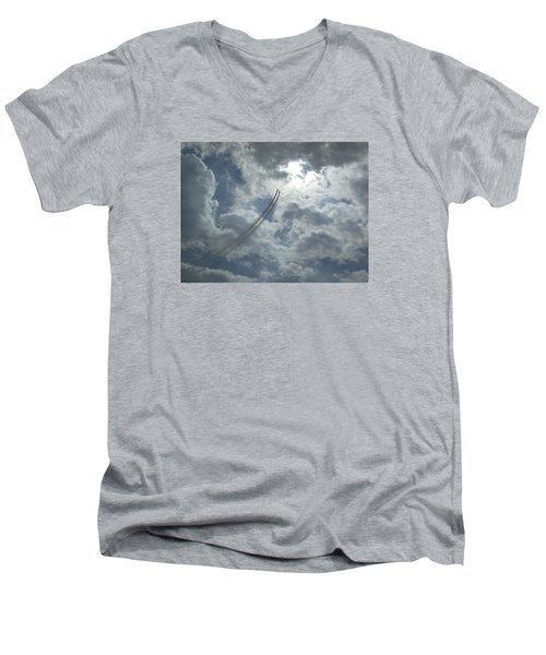 Aerial Display 2 Men's V-Neck T-Shirt
