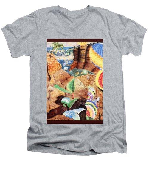 African Daydream Men's V-Neck T-Shirt